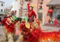The Spring Festival-Lion Dancing