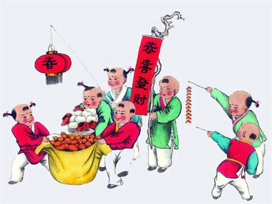 The Spring Festival-New Year Pictures