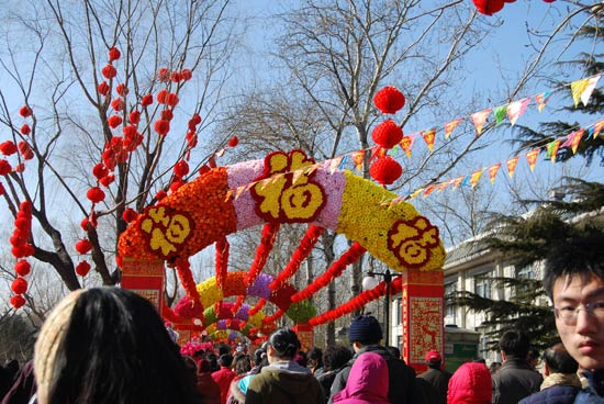 Celebration on the Spring Festival