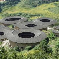 Tianluokeng Tulou Cluster,Fujian Tulou Tour