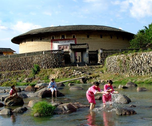 Famous Tulou in Fujian