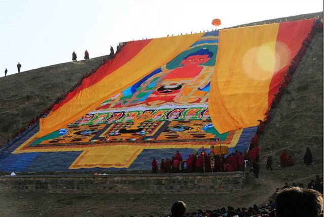 Tibetan Monlam
