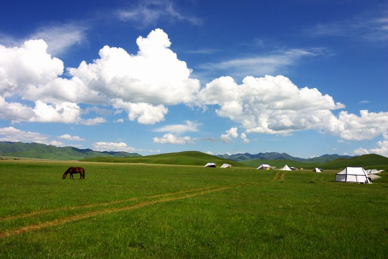 Sight of Sangke Pasture