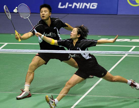 China Sports-Badminton Doubles