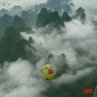 Yangshuo Hot Air Balloon Ride