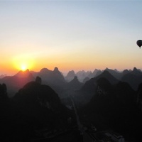 Yangshuo Guilin Hot Air Balloon