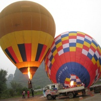 Yangshuo Hot Air Ballooning, Guilin Tours