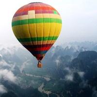 Ballooning In Yangshuo