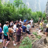 Rock Climbing in Yangshuo, Guilin Tours