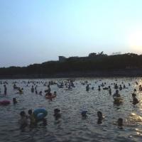 Swimming in Yangshuo