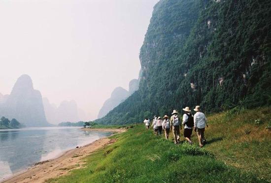 Trekking In Yangshuo