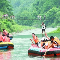 White Water Raft Ride in Ziyuan, Guilin Tours