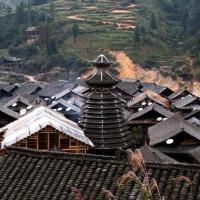 The Drum Tower in Zengcong Village, Guizhou Tours