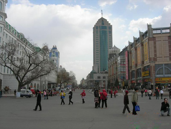 Central Street, Harbin Travel Photos