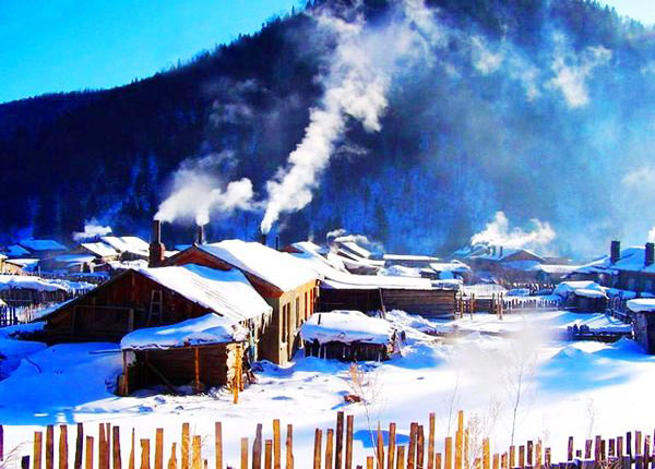 China S Snow Town Photos Harbin Travel Pictures Harbin Ice