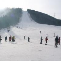 Mudanjiang China Snow Town