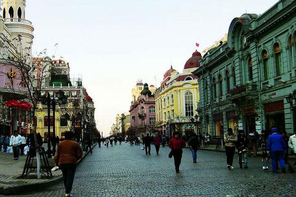 Gogol Street,Harbin Travel Pictures