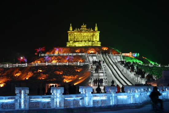 Harbin International Ice and Snow Festival,Harbin China Photos