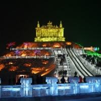 Harbin International Ice and Snow Festival,Harbin China Photos