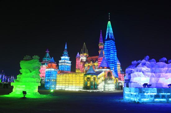Harbin Ice and Snow Festival, Harbin China,Harbin Heilongjiang
