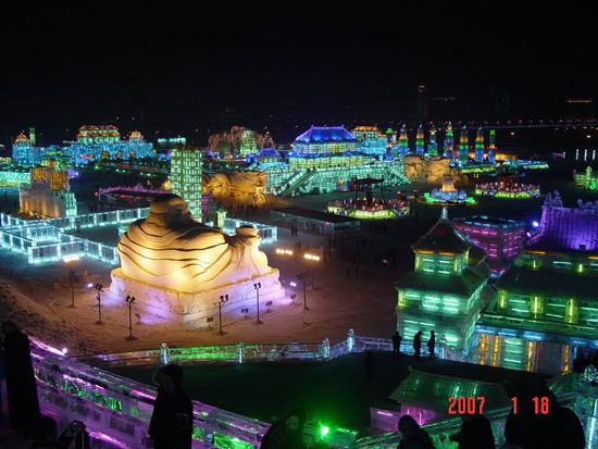 Harbin Ice and Snow Festival,Harbin Winter Travel, Harbin Ice Festival