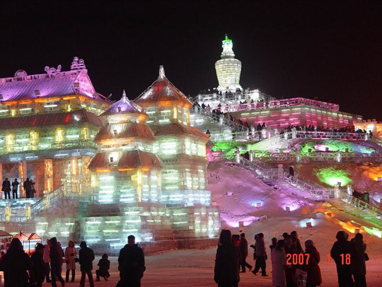 Harbin Ice and Snow Festival, Harbin Tour Photos