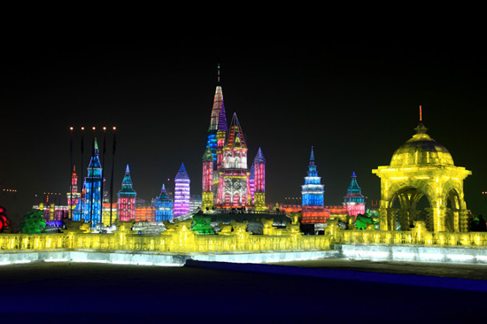 Harbin Ice and Snow Festival, Harbin Ice festival Photos