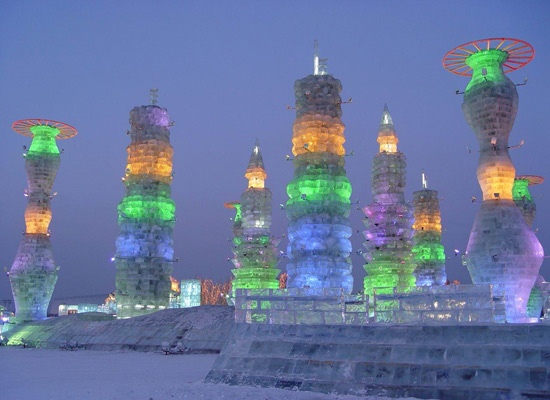 HarbinIce and Snow Festival, Harbin Tour Photos,China Ice Festival