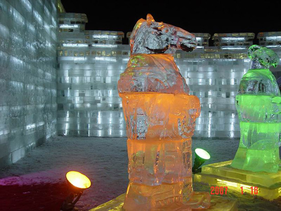 Harbin Ice and Snow Festival,Harbin Attraction