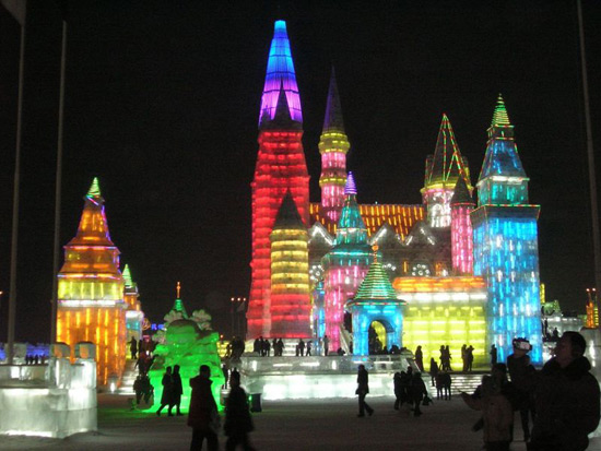 Harbin International Ice and Snow Festival, Harbin Travel Photos