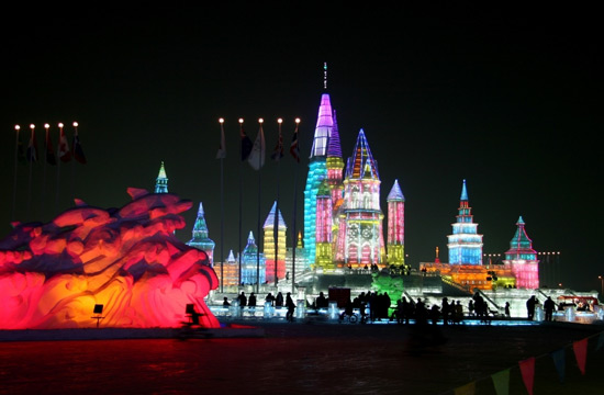 Harbin Ice and Snow Festival,China Winter Travel Photos
