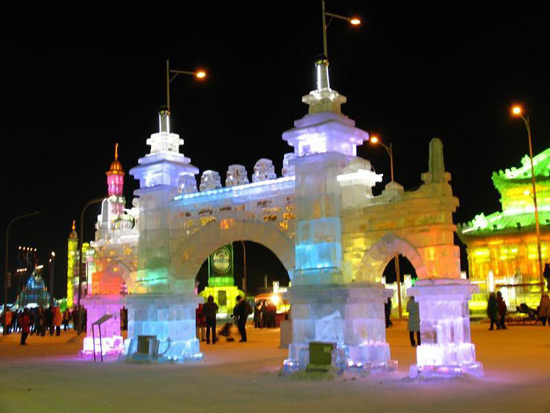 Harbin Ice Festival, Harbin Travel Photos