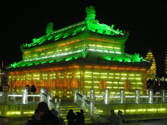 Harbin ice and snow festival 2012