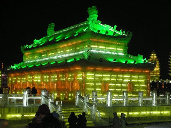 Harbin ice and snow festival 2012