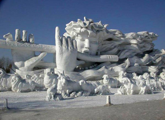 Harbin snow carvings