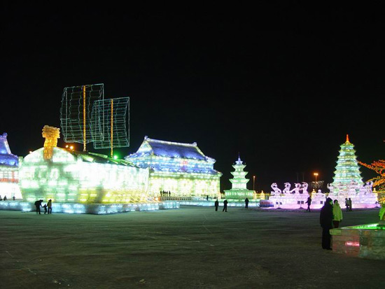 Harbin winter festival