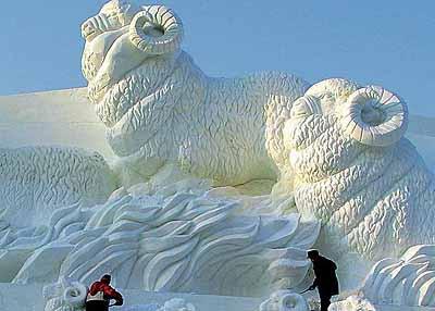 Harbin snow sculptures