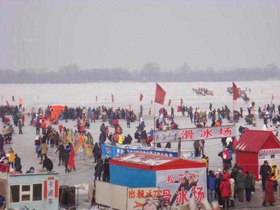 Harbin ice festival 2012
