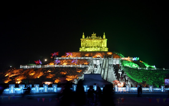 Harbin international snow festival