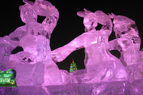 Harbin ice and snow park china