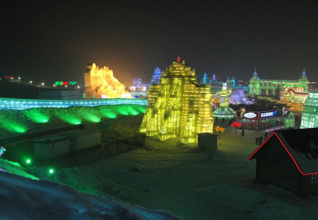 Ice and Snow World,Harbin snow world