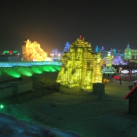 Ice and Snow World,Harbin snow world,Harbin Tour