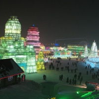 Ice and Snow World,Harbin Hilight,China Winter Travel