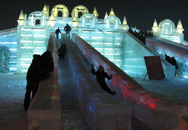 Ice and Snow World,Harbin Hilight,China Winter Travel