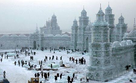 Harbin Ice and Snow World, Harbin China