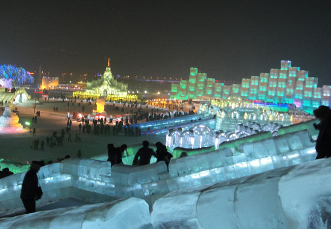 Ice and Snow World,China Winter Travel