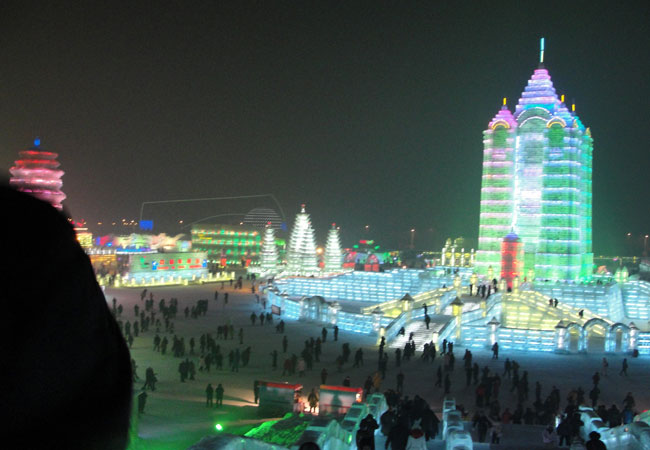 Ice and Snow World,Harbin Attraction