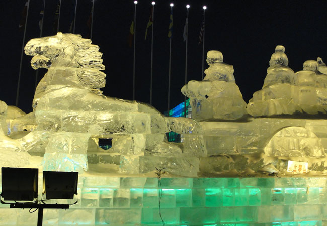 Ice and Snow World,Harbin Attraction,Harbin Sight