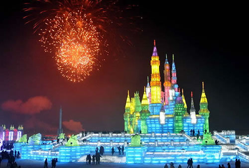 Ice and Snow World,Harbin Heilongjiang
