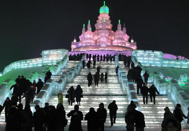Ice and Snow World,Harbin Travel